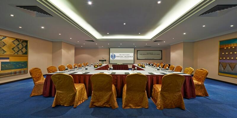 Function room that features U shape set up
