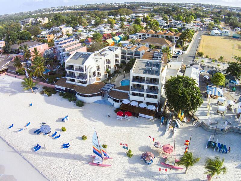 Beach Ariel of Hotel