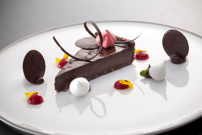 The Retreat - Raw Dark Chocolate Tart