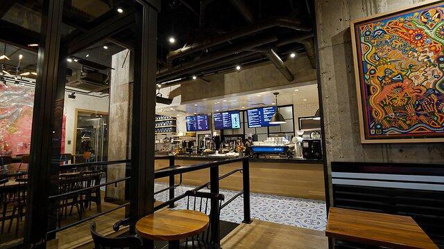 George Howell Coffee Interior
