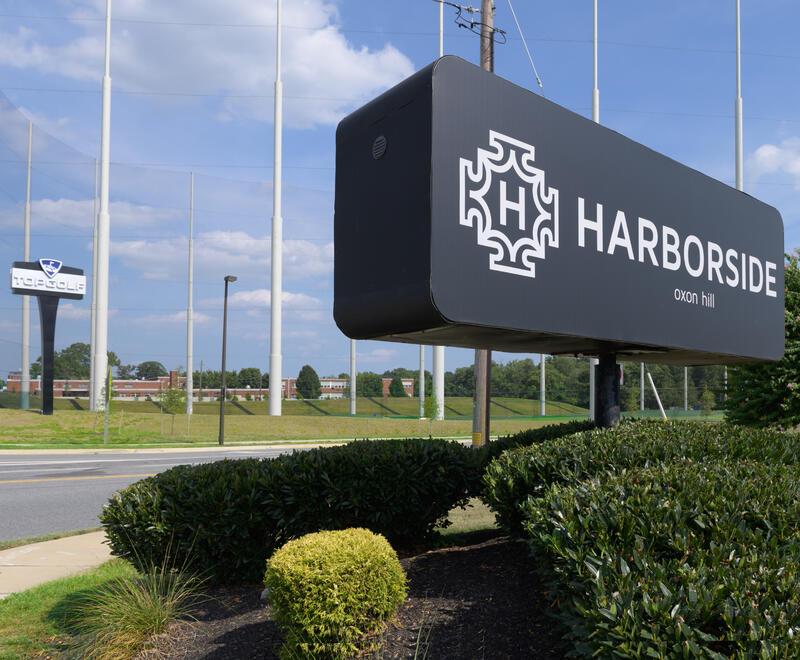 Harborside Signage
