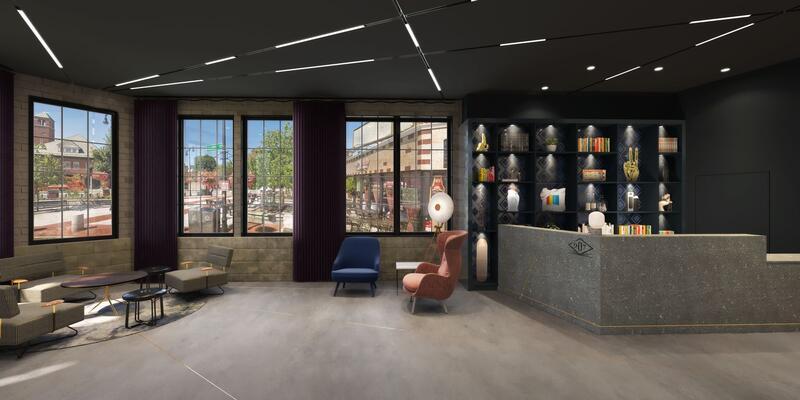 907 Main Lobby Interior