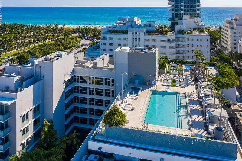 aerial view of boulan south beach