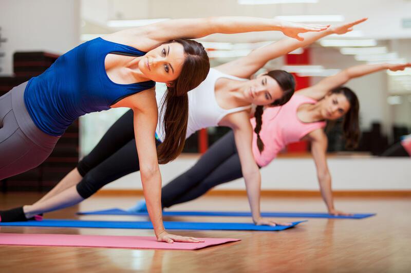 Yoga at Ghaya Grand Hotel Dubai
