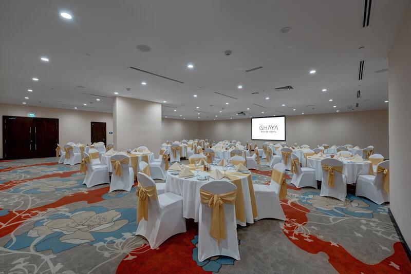 Ballroom at Ghaya Grand Hotel Dubai