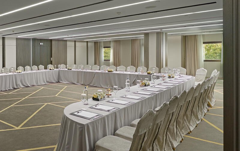 Banquet event room at NJV Athens Plaza Hotel