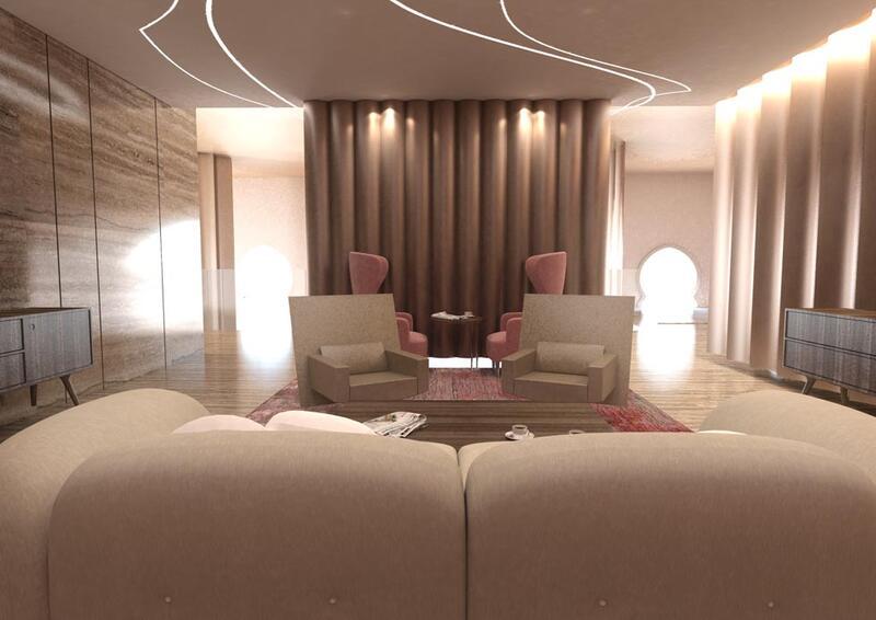 قاعة الاجتماعات في فندق جوري، من فنادق مروب في الدوحة ، قطر