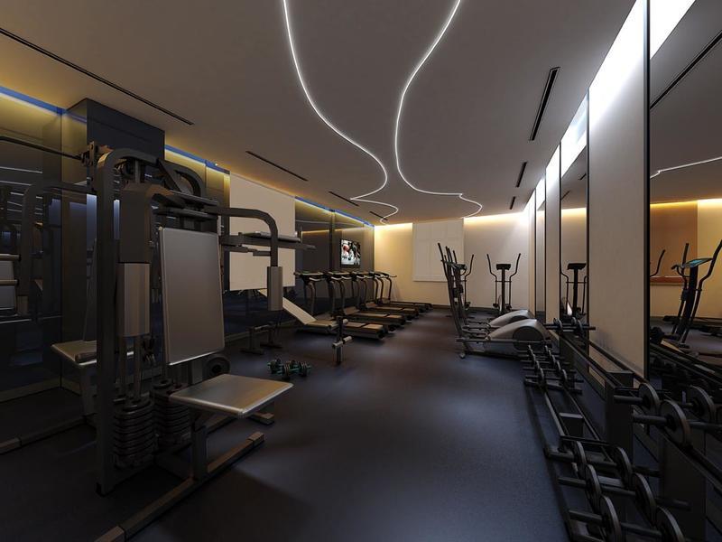 صالة الألعاب الرياضية في فندق جوري، من فنادق مروب في الدوحة ، قط