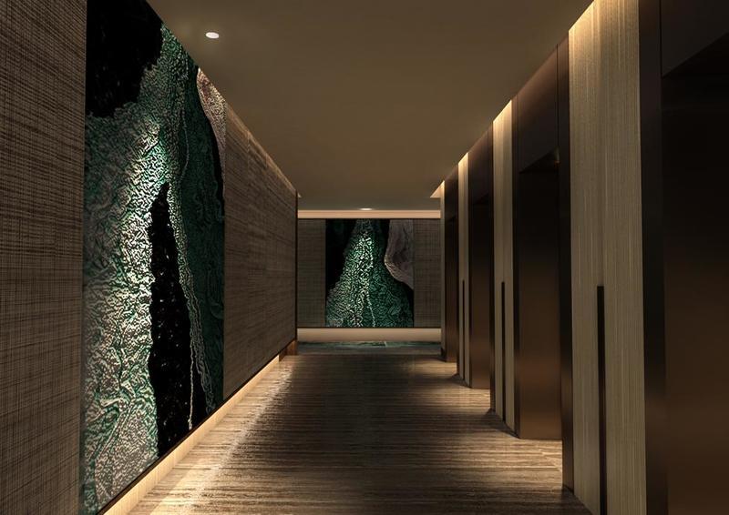 مصعد في فندق جوري، من فنادق مروب في الدوحة ، قطر