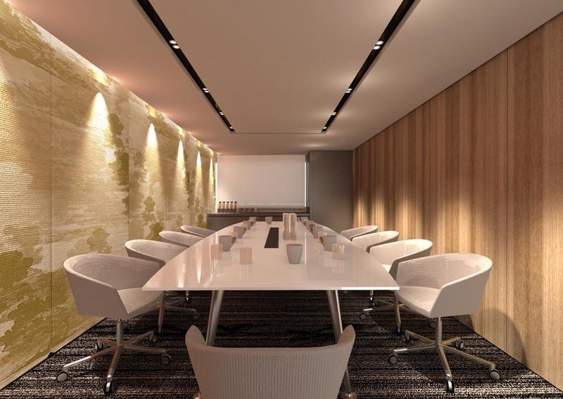 غرفة الاجتماعات في فندق جوري، من فنادق مروب في الدوحة ، قطر