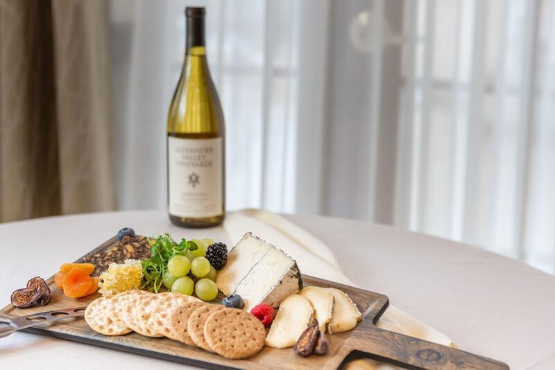cheese and white wine