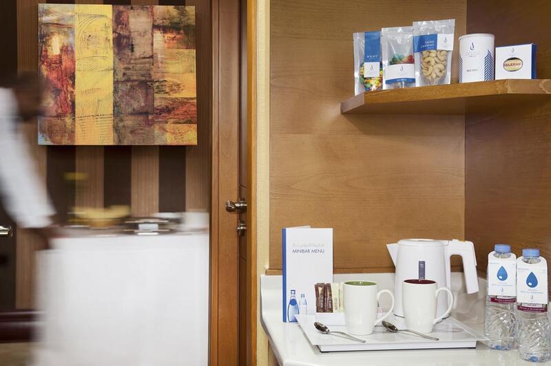 Coffee and tea making machine at City Seasons Towers