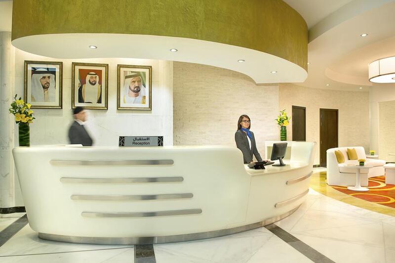 Reception at City Seasons Towers