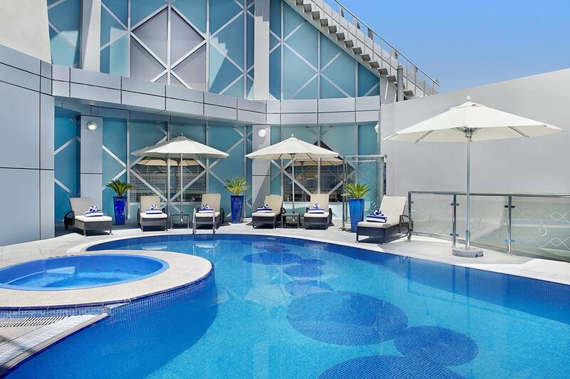 Rooftop Pool at City Seasons Towers