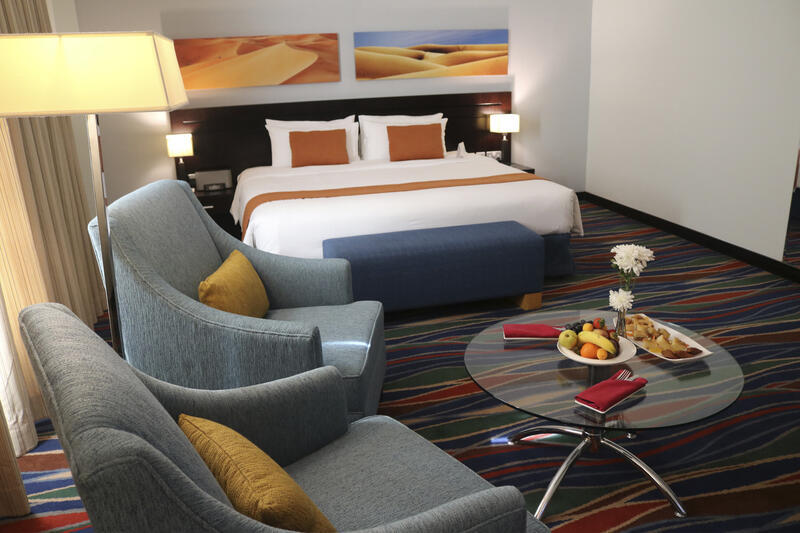 Deluxe Club Room at City Seasons Muscat