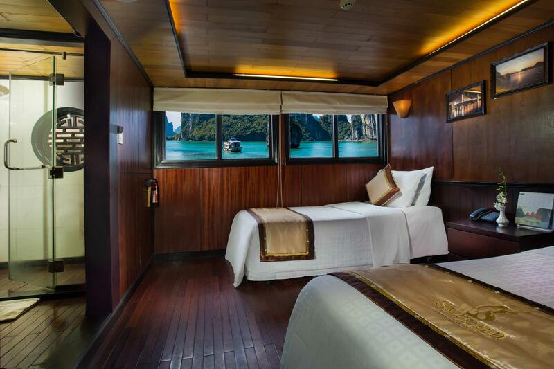 Syrena Cruises - Best Halong Bay Cruises - Deluxe Twin