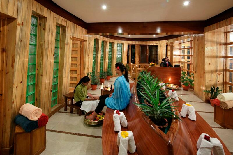 Reflexology at ManuAllaya Resort Spa Manali in Himachal Pradesh