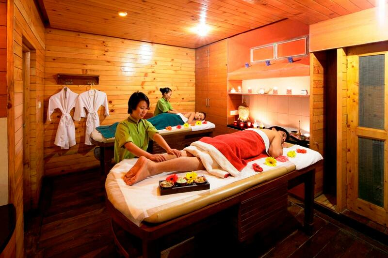 Spa at ManuAllaya Resort Spa Manali in Himachal Pradesh, India