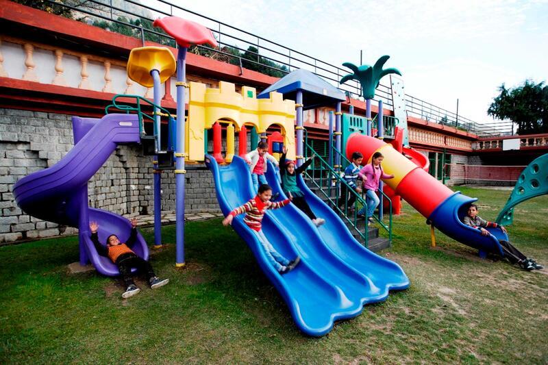 Recreation area at ManuAllaya Resort Spa Manali