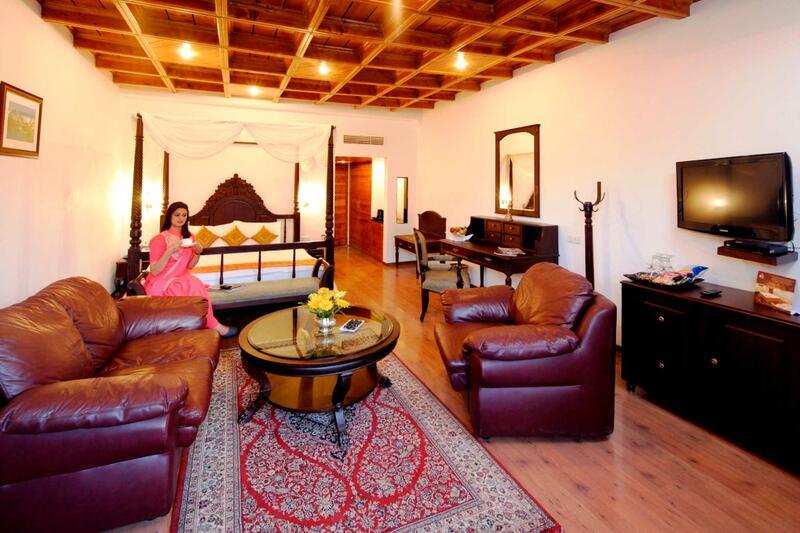 Deluxe Room at ManuAllaya Resort Spa Manali in Himachal Pradesh