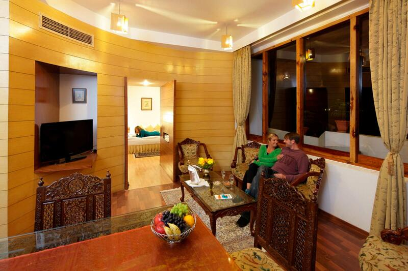 Deluxe Suite at ManuAllaya Resort Spa Manali in Himachal Pradesh