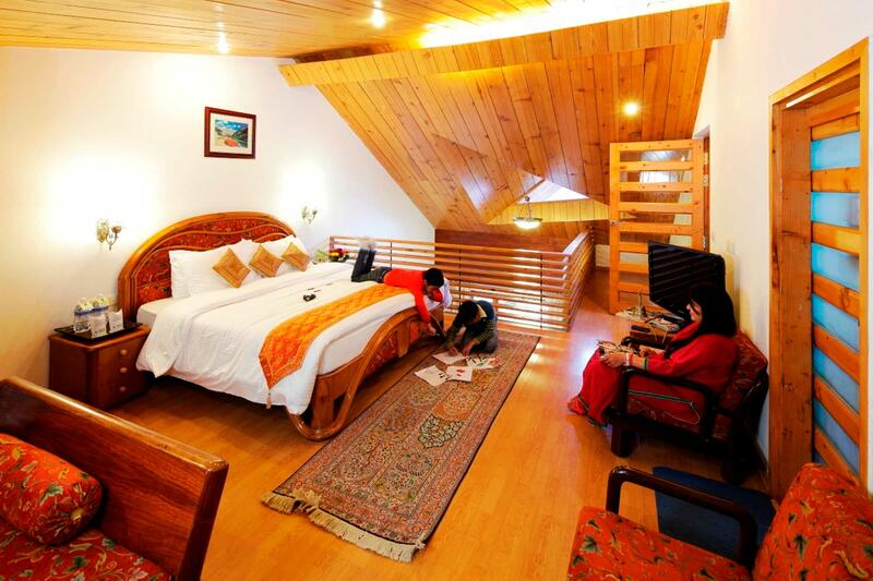 Duplex at ManuAllaya Resort Spa Manali in Himachal Pradesh