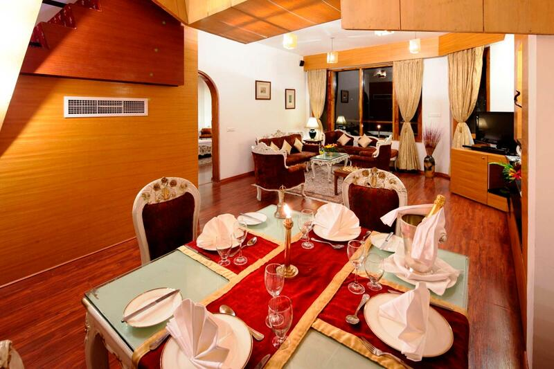 Royal Suite at ManuAllaya Resort Spa Manali in Himachal Pradesh