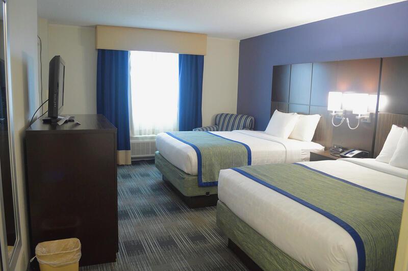 Double Queen Bed Room Interior