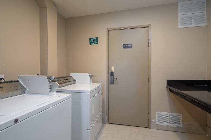 Washer & Dryer in Hotel