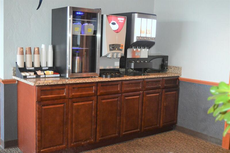 Drink station at Falmouth Breakfast Room