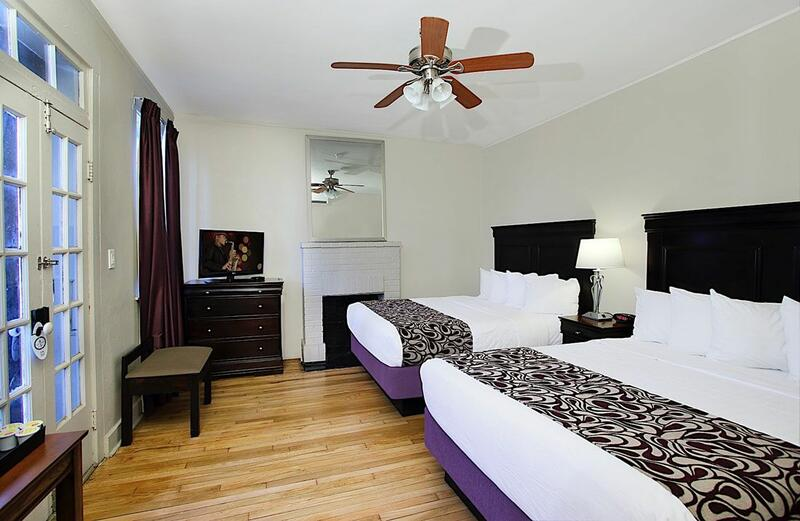 Inn on Ursulines 2 Queen Room Interior