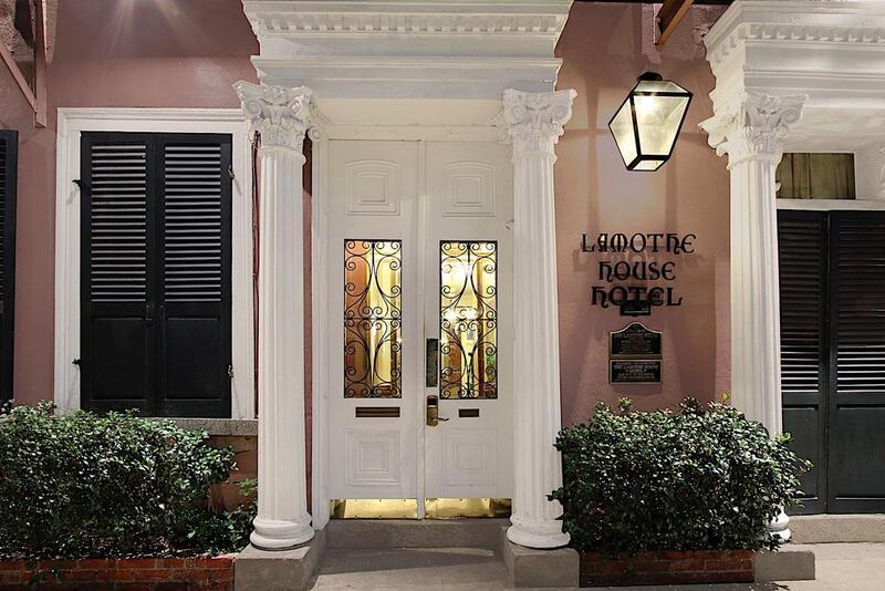 Lamothe House Hotel Front Door