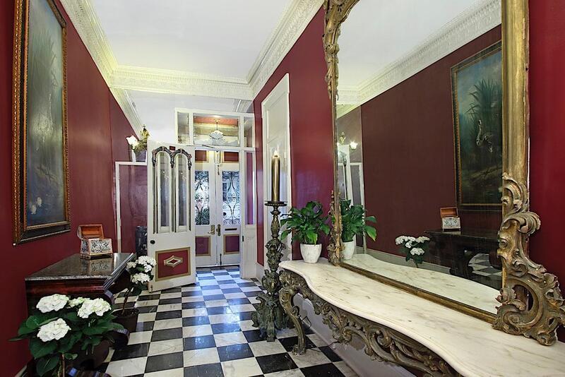 Lamothe House Entryway