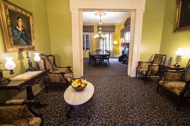 Lamothe House Sitting Area