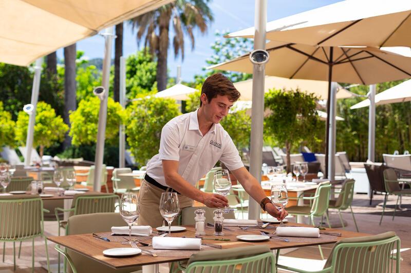 Aimia Hotel - Restaurant outdoor