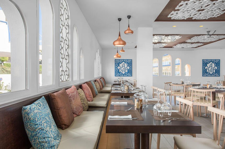 Sahara Sunset Restaurant Seating Area