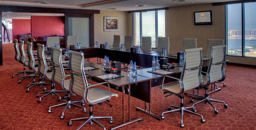 Big Table Meeting Room Two Seasons Hotel
