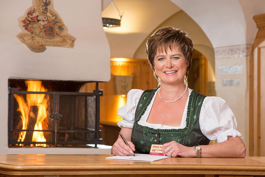 Staff at Gasthof Eggerwirt Hotel in Kitzbühel, Austria