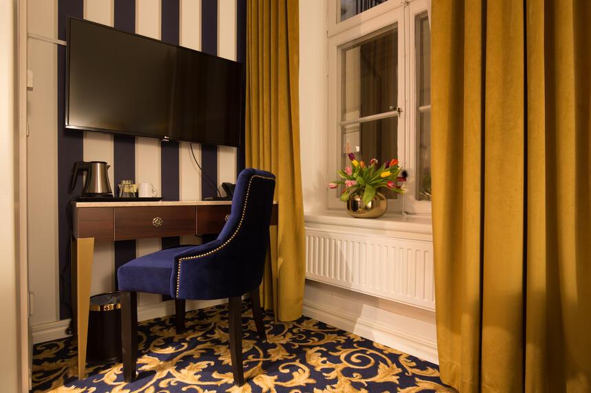 Room detail at Hotel Gamla Stan in Stockholm