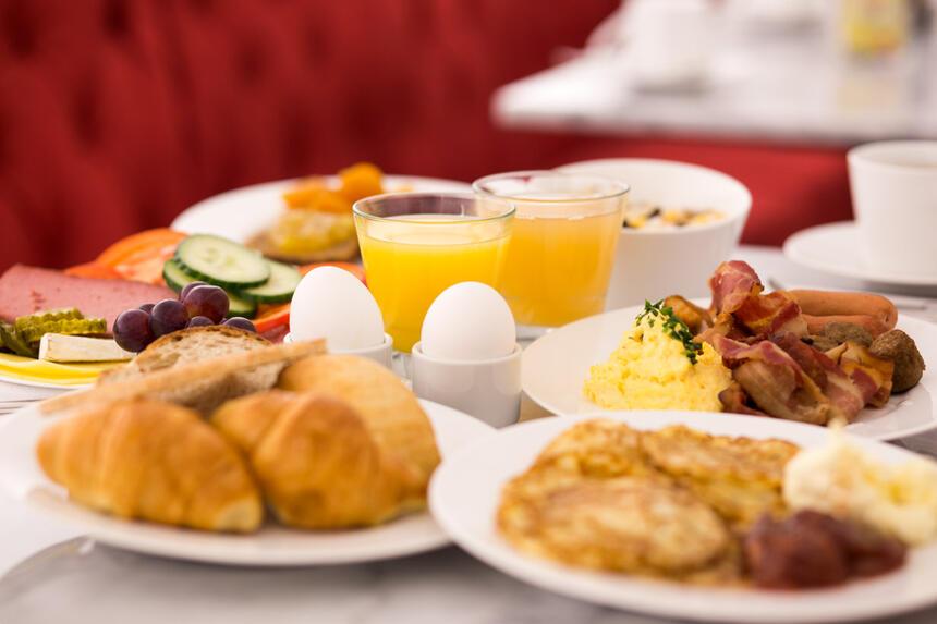 Breakfast at Hotel Gamla Stan in Stockholm