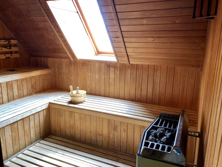 sala de sauna hotel cumbres puerto varas