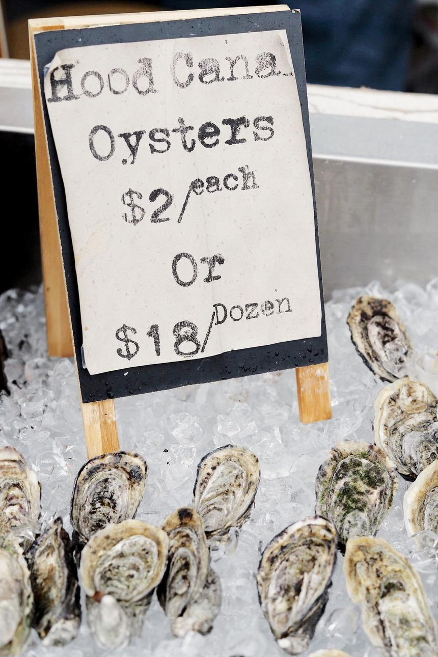 Oysters at Hook And Flok