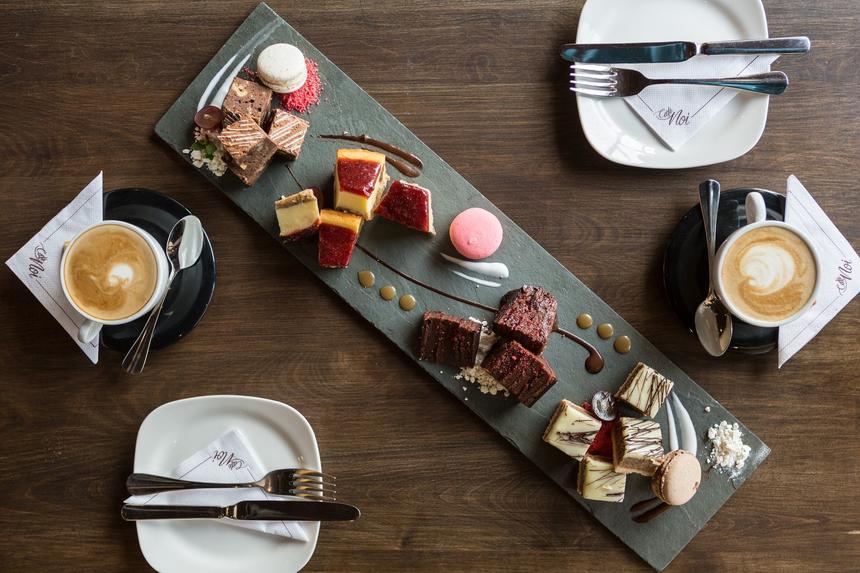 Cafe NOI delicious Dessert Options at NOI Vitacura hotel