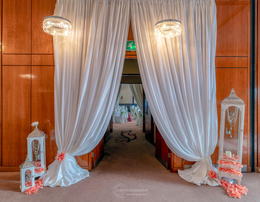 City Hotel Derry Ballroom Entrance