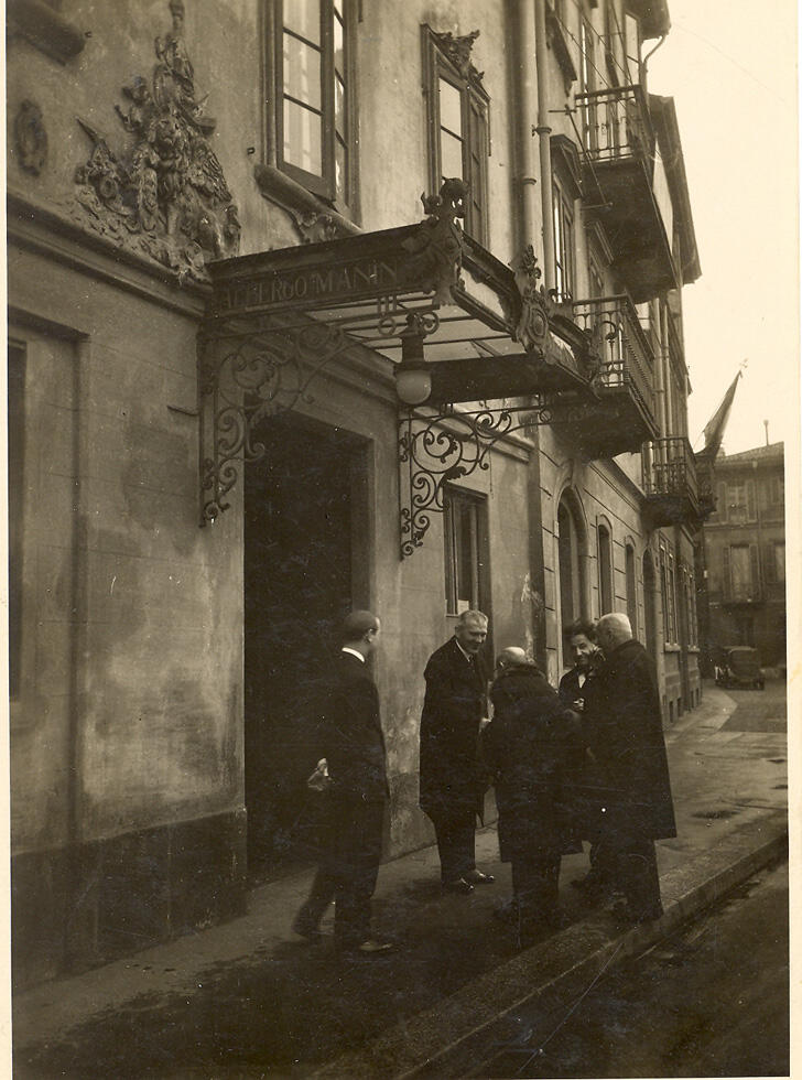 History of Manin Hotel Milano