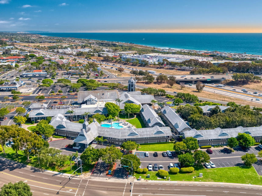 Birds Eye View of Carlsbad by the Sea