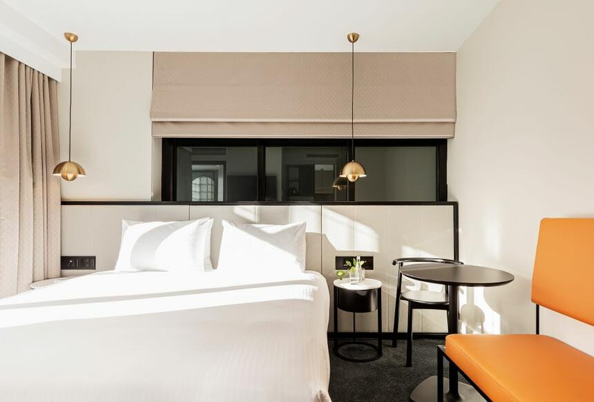 Balcony room at Brady Hotels Jones Lane