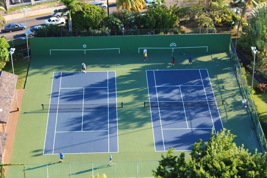 Pegasus Tennis Court
