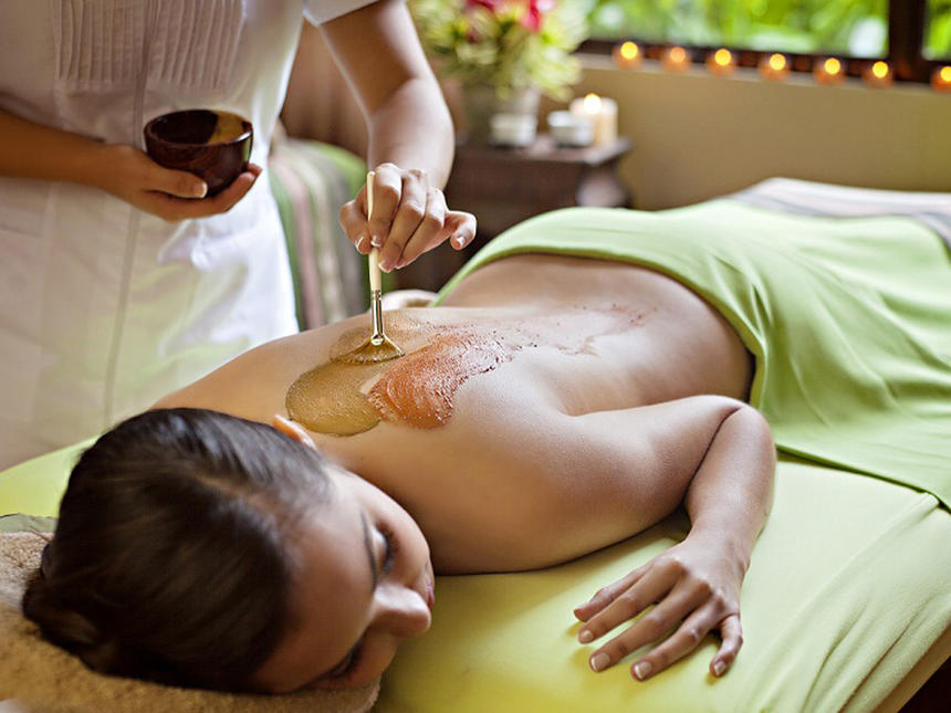 Woman Spa Treatment