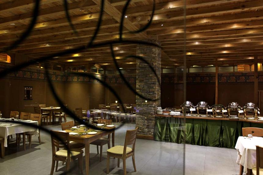 Restaurant at Naksel Boutique Hotel And Spa in Paro, Bhutan